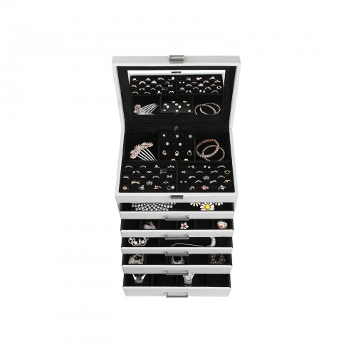 6 Layers Jewelry Organizer