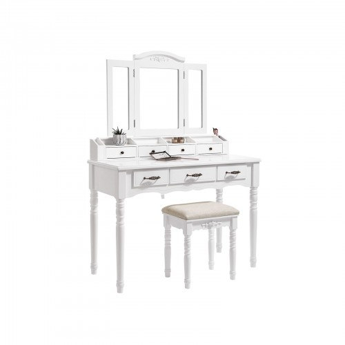 Folded Mirror Vanity Set