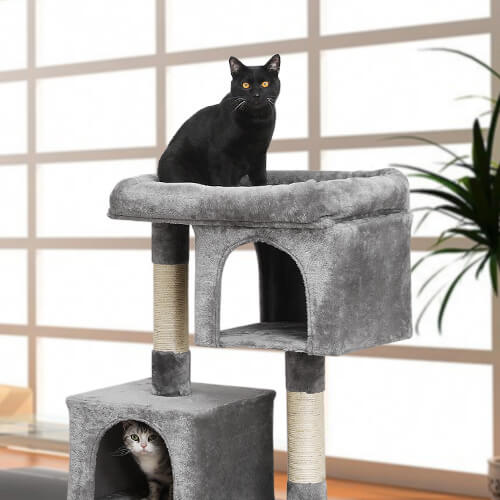 FEANDREA small grey cat tree